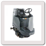 We sell and rent riding scrubbers.