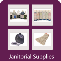We sell janitorial Supplies.