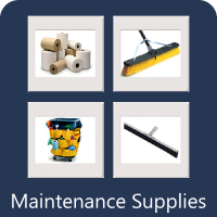 We sell maintenance supplies.