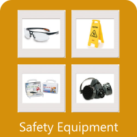 We sell safety supplies.